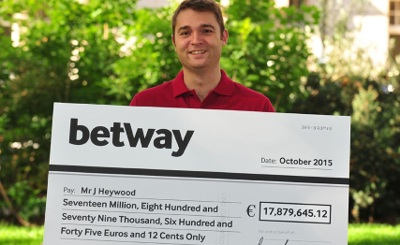 J Heywood E17Million Winner